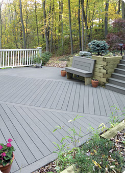 Composite decking system